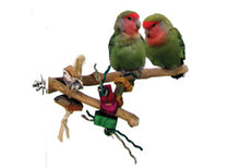 Load image into Gallery viewer, Java Wood Branch Bird Toy