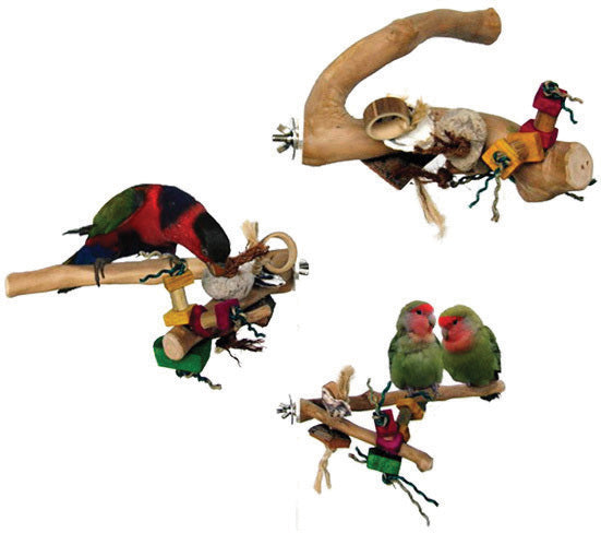 Java Wood Branch Bird Toy