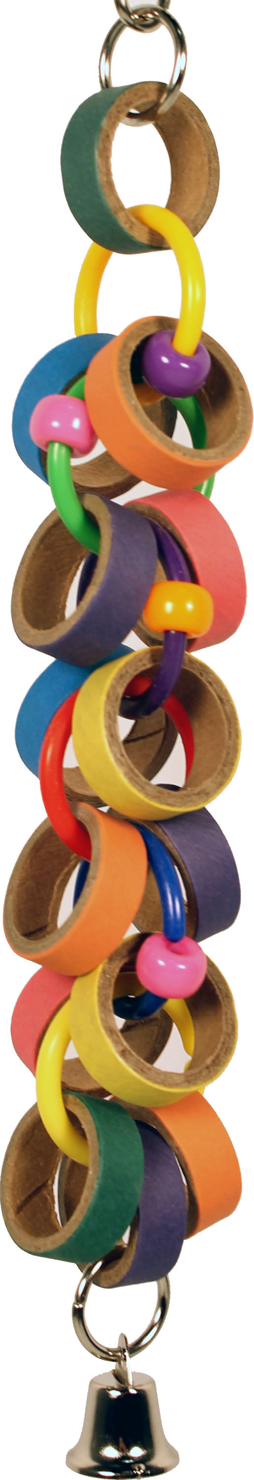 Happy Beaks Bagels And Bells Toy