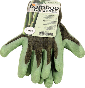 The Bamboo Gardener Rubber Palm Gloves