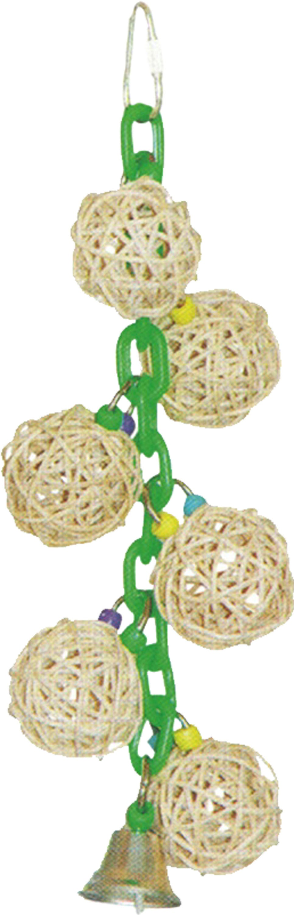 Hb Six Vine Balls On Chain W/bell
