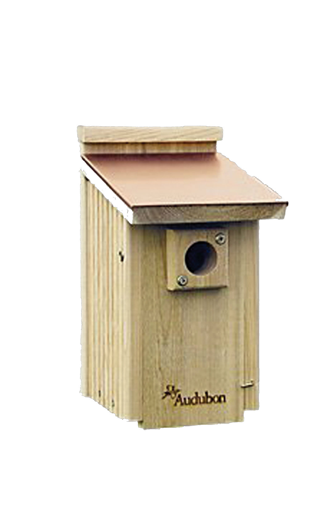 Cedar Wood Bluebird House With Copper Roof