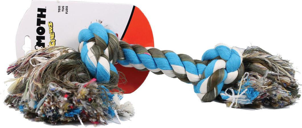 Flossy Chews Color Rope Bone Dog Toy