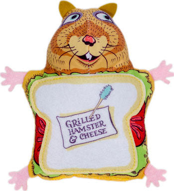 Fluffy's Snack Bar Grilled Hamster N Cheese Toy
