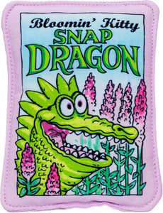 Bloomin' Kitty Snap Dragon Seed Packet Cat Toy