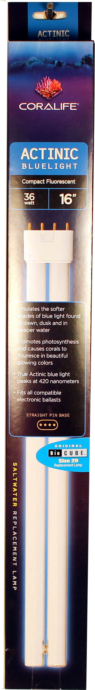 Bio Cube Replacement Lamp Actinic