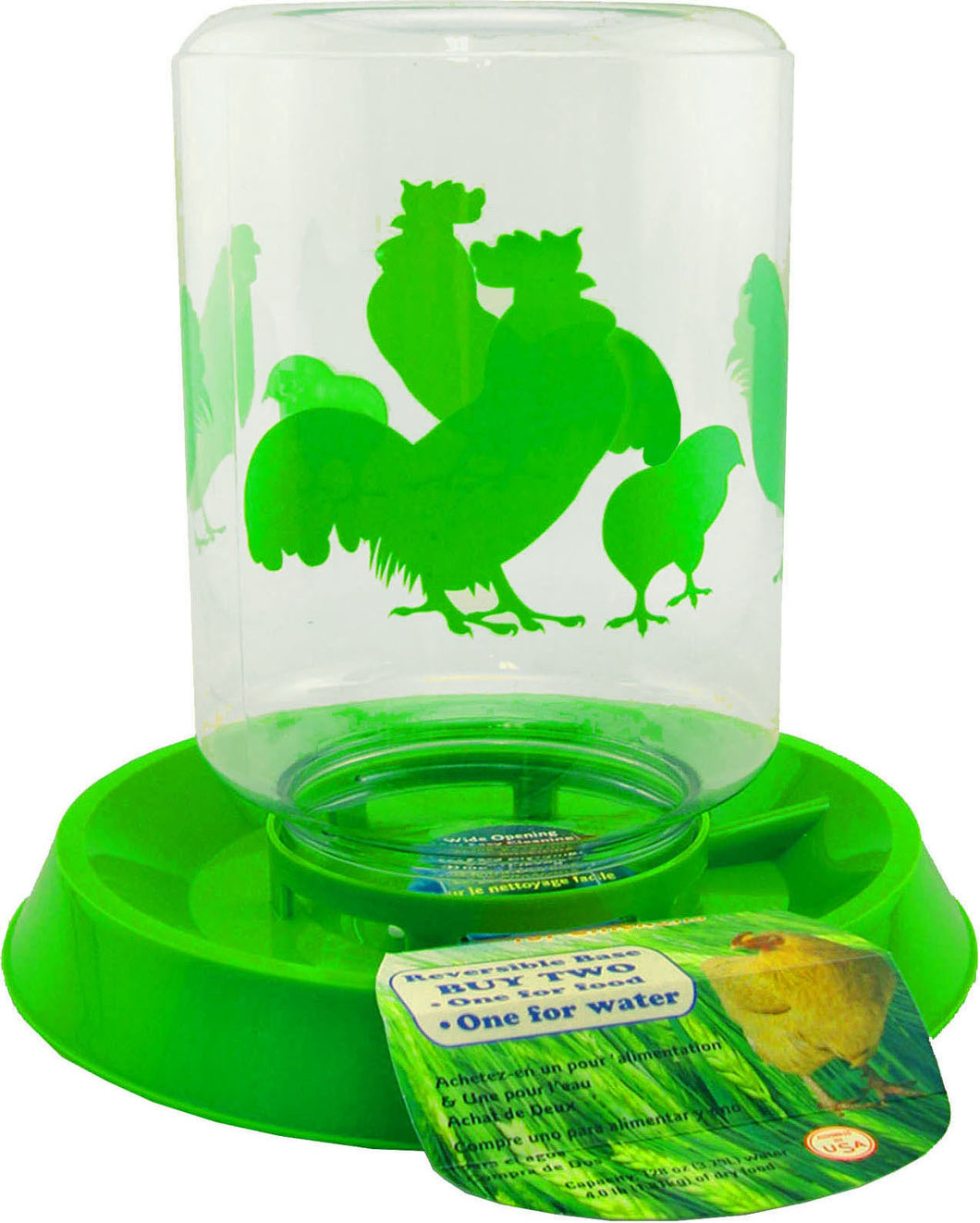 Chicken Feeder/waterer Combo