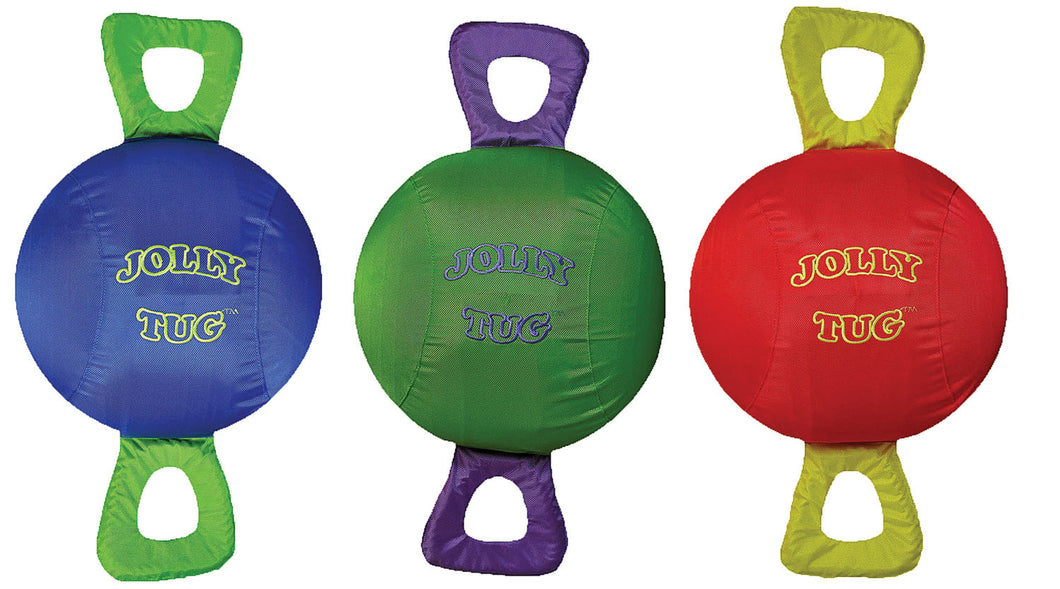 Jolly Tug Ball Dog Toy
