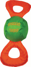 Load image into Gallery viewer, Jolly Tug Ball Dog Toy