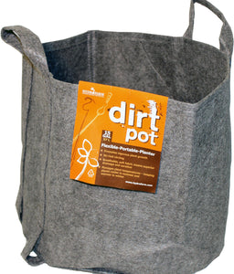 Hydrofarm Dirt Pot With Handle