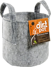 Load image into Gallery viewer, Hydrofarm Dirt Pot With Handle