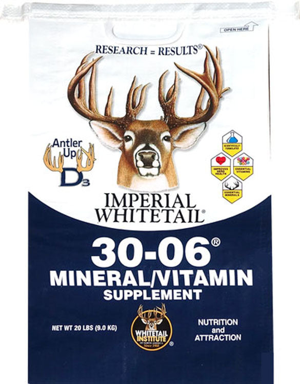 Imperial Whitetail 30-06 Mineral/vitamin