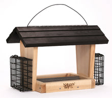 Load image into Gallery viewer, Hopper Feeder With Suet Cages