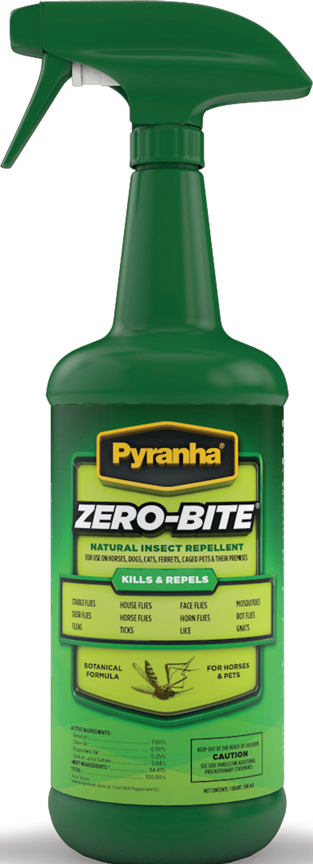 Zero-bite Natural Insect Spray For Horses