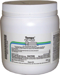 Tempo 20wp Insecticide For Commercial Use Only