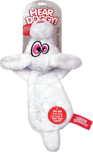 Hear Doggy Flattie Rabbit Ultrasonic Dog Toy