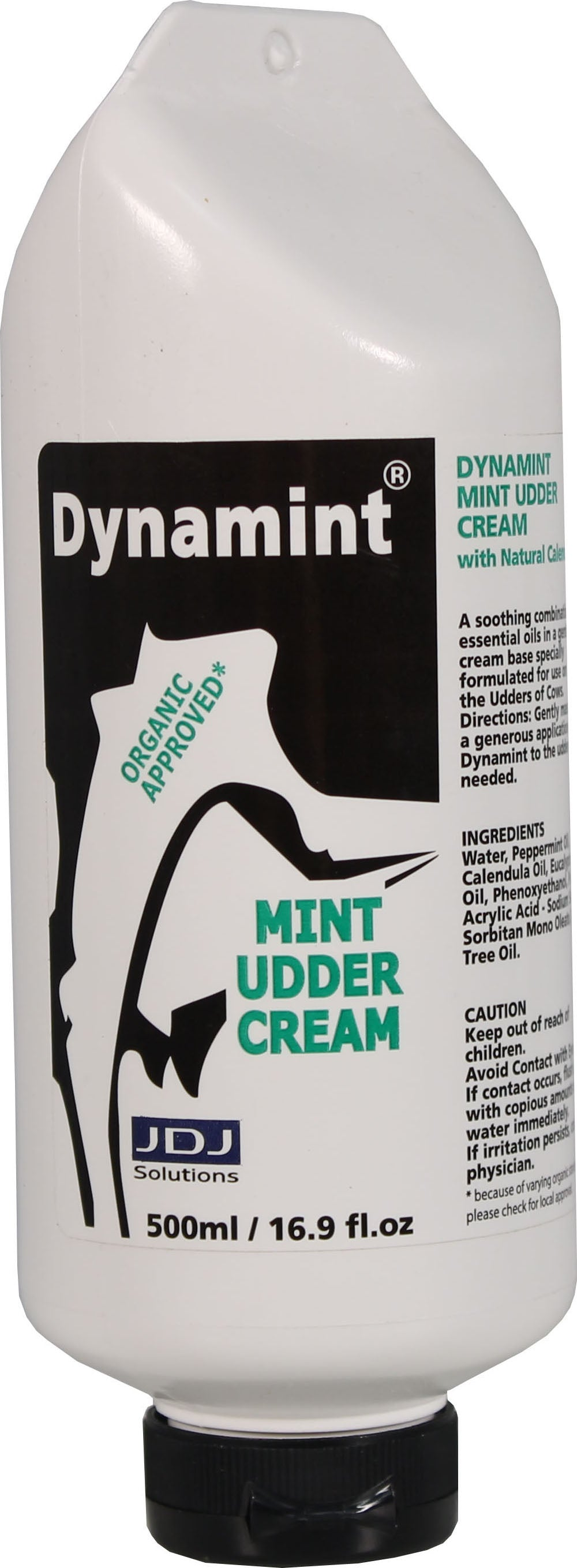 Dynamint Mint Udder Cream Hang Bottle