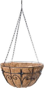 Finial Hanging Basket