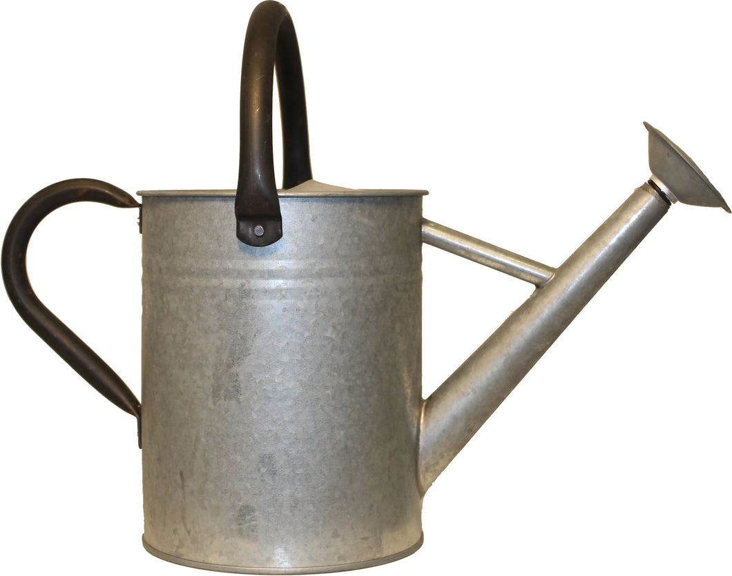 Aged Galvanized Watering Can