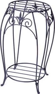 Double Plant Stand With Finial