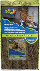 Cosmic Catnip Double-wide Cat Scratcher