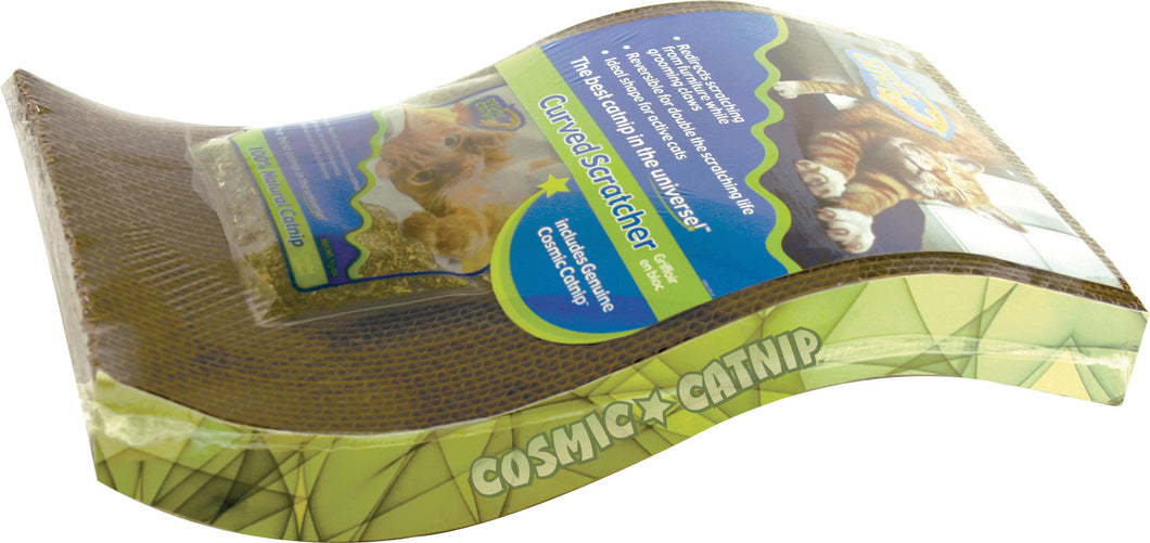 Cosmic Catnip The Wave Cat Scratcher
