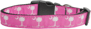 Carolina Girl Nylon Ribbon Dog Collars Medium