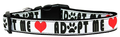 Adopt Me Nylon Dog Collar Medium