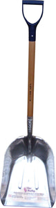Bully Scoop Wearstrip Shovel W/ D Handle Grip