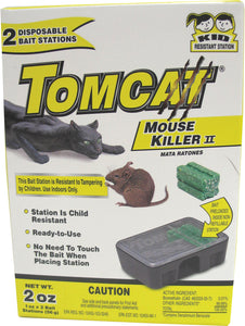 Tomcat Mouse Killer Ii Disposable Bait Stations