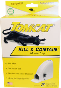 Tomcat Kill & Contain Mouse Trap
