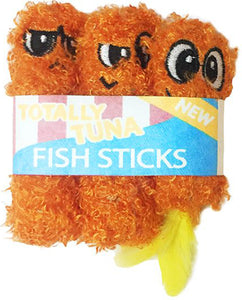 Fish Sticks Catnip Toy