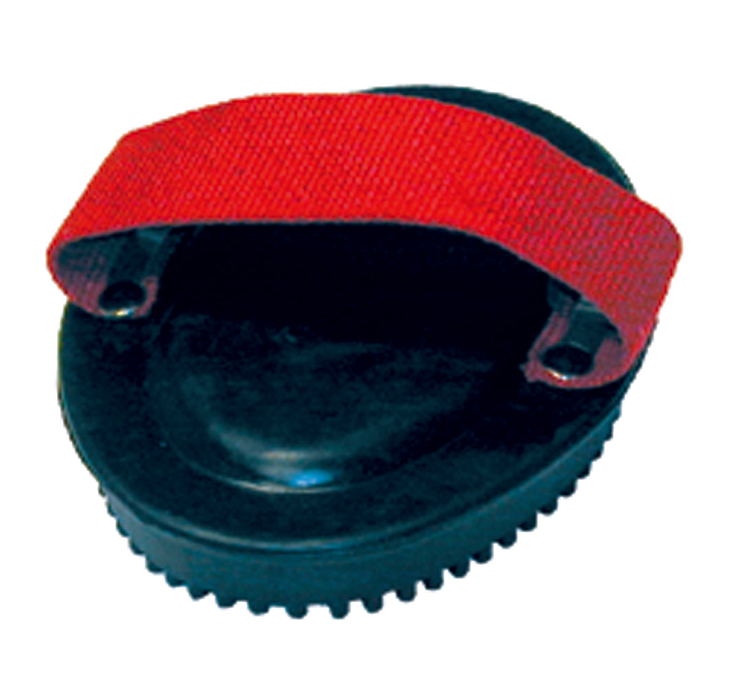Web Handled Rubber Curry Comb For Horses