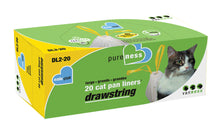 Load image into Gallery viewer, Van Ness Drawstring Cat Pan Liners