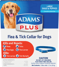 Load image into Gallery viewer, Adams Plus Flea & Tick Collar For Dogs