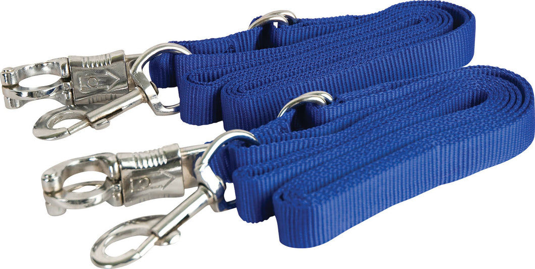 Adjustable Nylon Crossties With Panic Snap