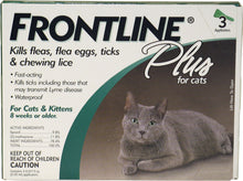 Load image into Gallery viewer, Frontline Plus For Cats