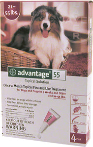 Advantage Ii Dog Red