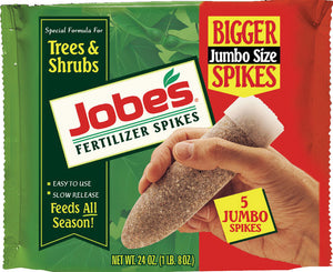 Jobe's Fertilizer Spikes For Trees & Shrubs
