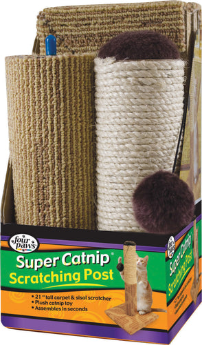 Super Catnip Carpet & Sisal Scratching Post