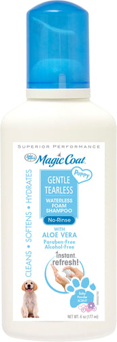 Fp Magic Coat Puppy Waterless Foam Shampoo