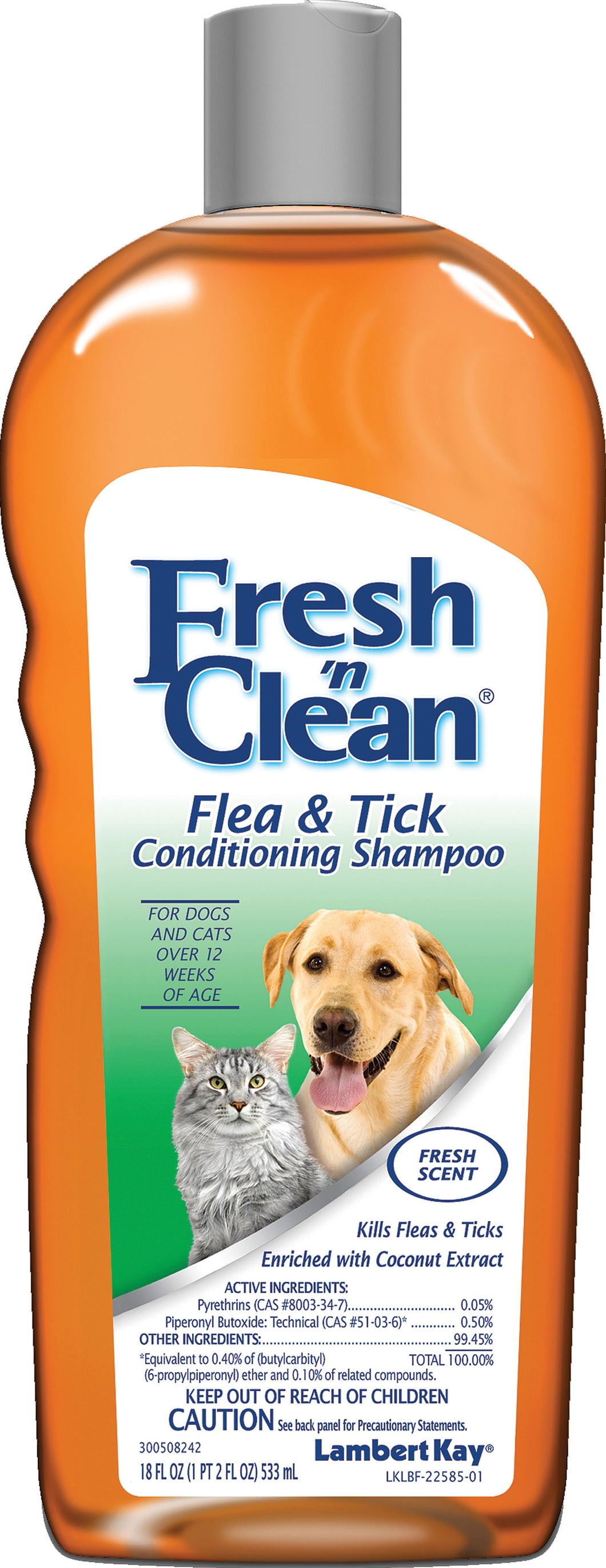 Fresh 'n Clean Flea & Tick Shampoo- New Formula