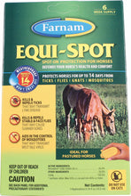 Load image into Gallery viewer, Equi Spot Spot-on Fly Control For Horses