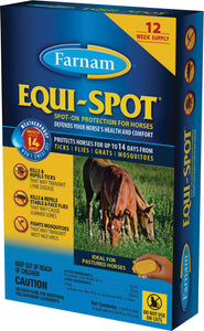 Equi Spot Spot-on Fly Control For Horses