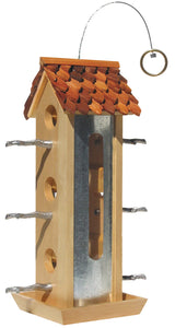 Birdscapes Tin Jay Wild Bird Feeder