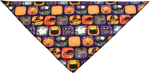 Classic Halloween Tie-On Pet Bandana Size Large