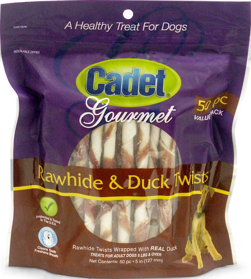 Cadet Gourmet Rawhide & Duck Twists