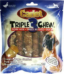 Cadet Pork Hide Triple Chew