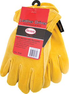 Therm Insulated Split Deerskin Driver Glove