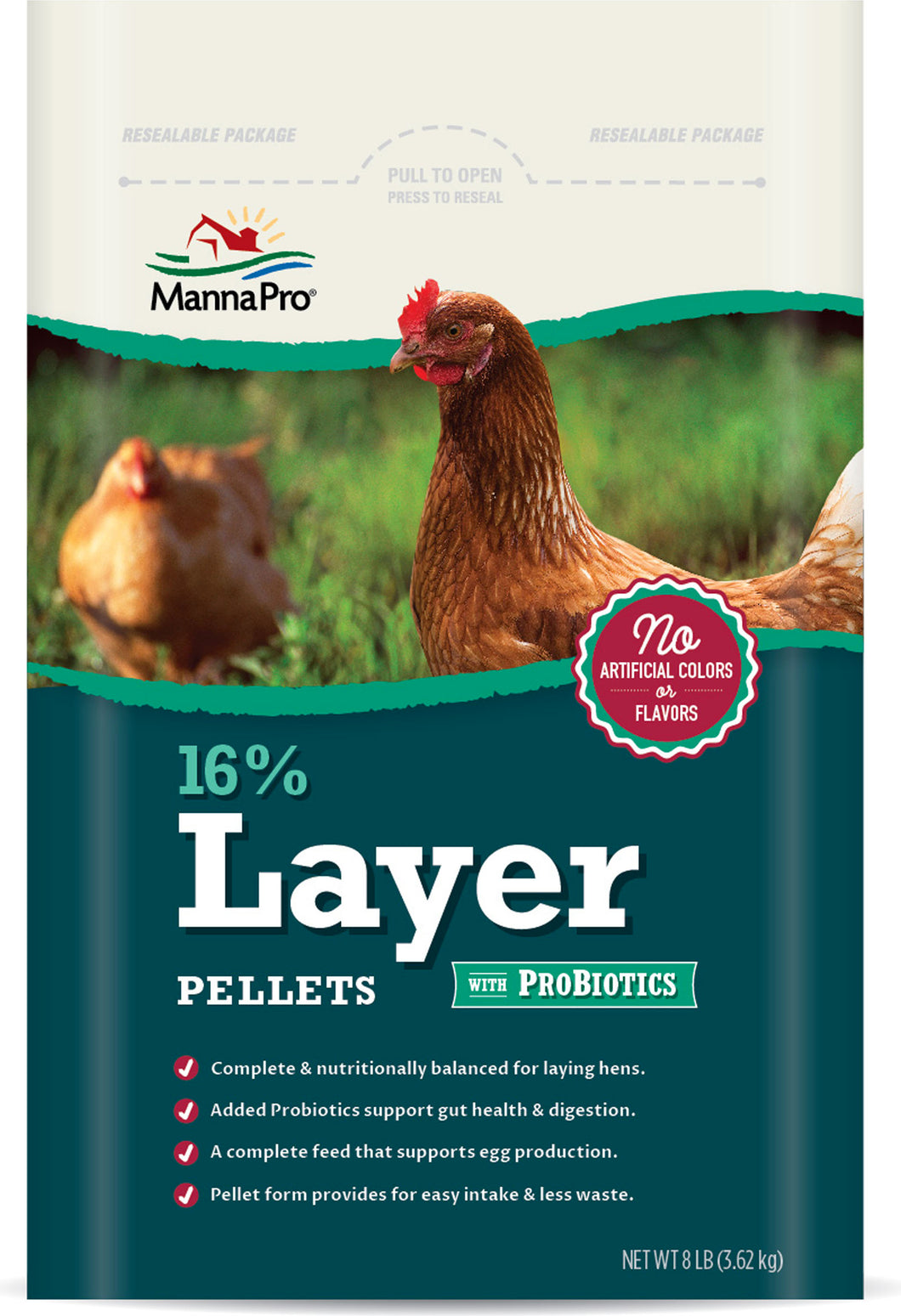 16% Layer Pellet With Probiotics